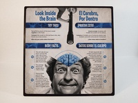 """Look Inside the Brain"" Sign"