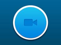 Video Camera Button - Hollerback