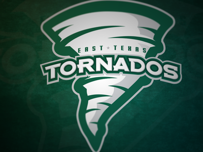 East Texas Tornados sports logo logo team sports texas tornado cheer