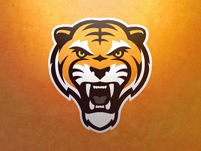 Tiger Logo 2.0 sports logo logo team sports tiger