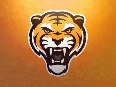 Tiger Logo 2.0 sports logo logo team sports tiger