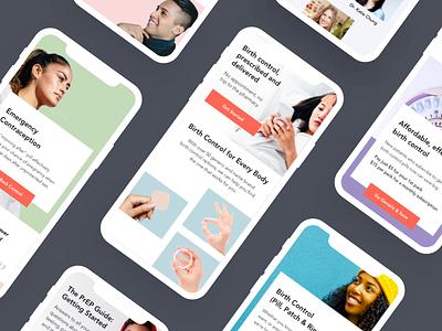 Nurx Interim Redesign - 2019 healthcare app healthcare ui mobile telehealth