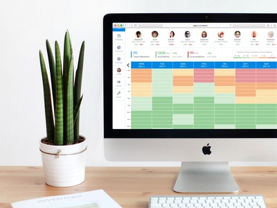 Legion Console agile product design scheduling workforce dashboard productivity