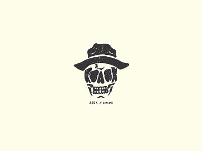 Ole! skull skully up lock logo sports action illustration design revival roark