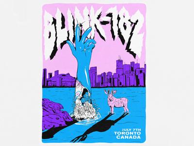 Blink-182 Tour poster