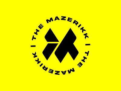 TheMazzerikk Lockup lockups clean badge custom icon illustration simplistic trademark lockup brand identity branding design branding logo design simple logo simple design simple