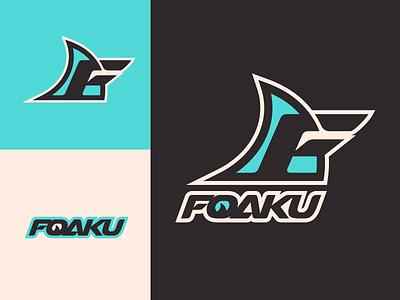 Foaku Brand Identity personal logo personal brand logos logodesign logotype typography logo design brand custom icon design trademark illustration logo branding