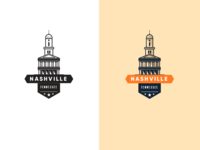 Nashville Capital Building Badge