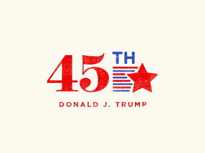 POTUS new clean logo branding flag inaguration america donald trump potus