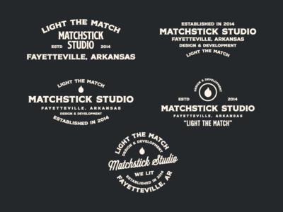 Matchstick Studio Lockups