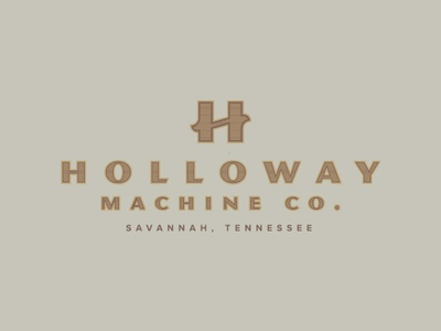 Holloway Machine Co. Branding