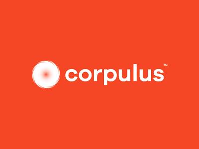 Corpulus Branding tech gradient trademark logo branding corporate