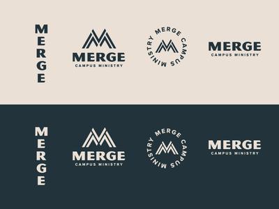 Merge Campus Ministry Branding