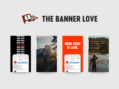 The Banner Love Instagram Stories