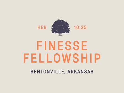 Finesse Fellowship Branding fashion church arkansas trademark logo branding fellowship