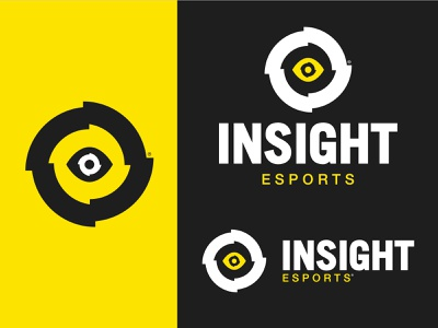InSight eSports esportlogo esports mascot vector typography icon design trademark custom logo branding esports logo design esports logo esport