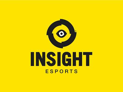 InSight eSports Stacked View esports mascot esportslogo color shooter fps brand videogames videogame esports vector design icon illustration trademark logo branding