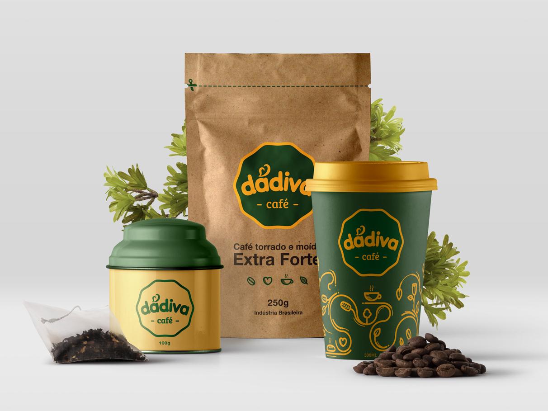 Dádiva Café - Branding brand visual identity identity design brand identity brand design logo design branding