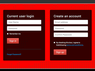 First Place Racing 2013 login screen home page buttons forms
