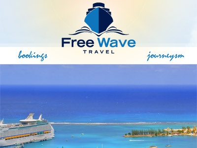 Free Wave 2 travel water cruise caribbean blue