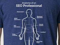 Anatomy of an SEO Professional shirt