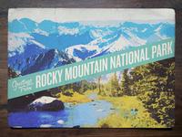 Vintage Postcard: Rocky Mountain National Park