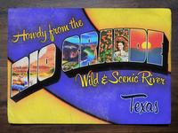 Vintage Postcard: Rio Grande Wild & Scenic River