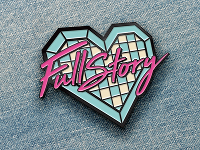 That's SO Fullstory! denim jean jacket jeans thats so raven raven 90s fullstory atlanta enamel enamel pin