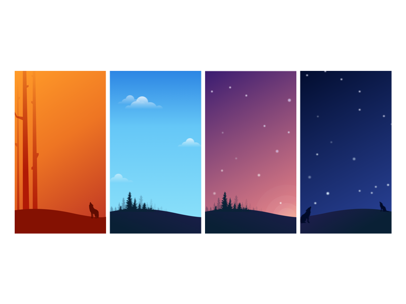 app backgrounds by frances palmer on dribbble