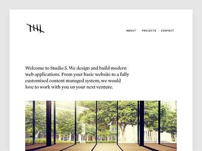 Wordpress theme for design studio. Work in progress. web design design web wordpress