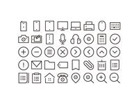 tiny simple icon
