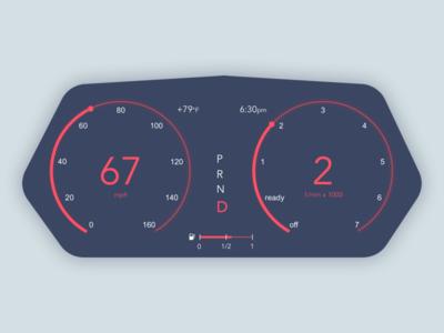 Daily UI #034 car interface interface design illustration ui dailyui034 dailyui