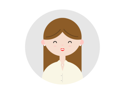 Profile - Lady persona illustration