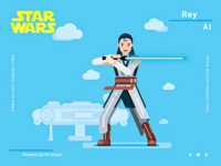 Rey -- star wars AI