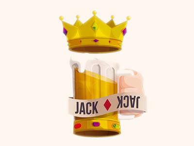 Jack ♦ Diamonds beer sota diamante vectatory card diamonds jack