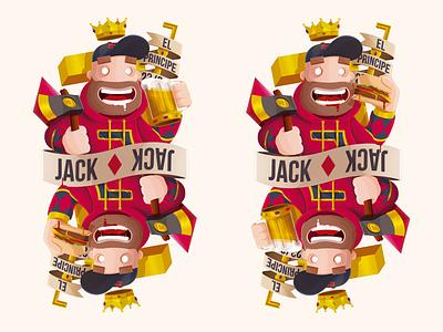 Jack ♦ Diamonds prince hambuerger beer sota diamante vectatory card diamonds jack