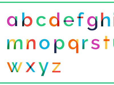 Raleway Typeface Sampler typeface sampler typeface design colour fonts
