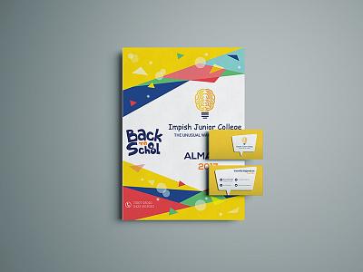 Impish Junior College website design. branding