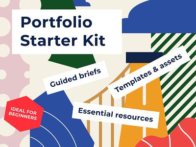 New course: Portfolio Starter Kit illustration ui practice design briefs briefbox