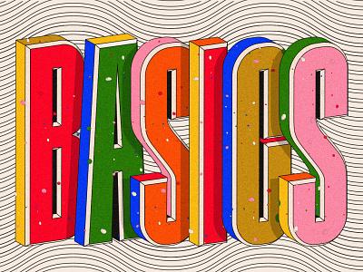 UX Basics Artwork 3d patterns lettering type briefs learn practice design design briefbox
