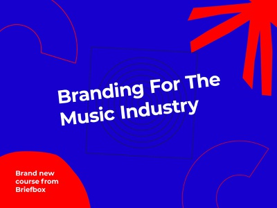 Briefbox Branding For Music Industry -  now live! learn ui briefs design branding educational practice design briefbox learndesign education course pattern fun tropical