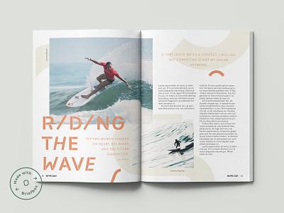 Made with Briefbox: September layoutdesign typography type editorial piblication magazine layout design briefs briefbox