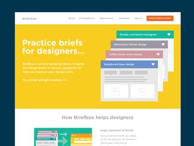 Briefbox Homepage