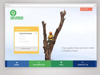 Tree Services Website Design