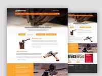 Homemade- Free Website PSD