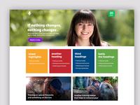 Maya Free PSD Website Template