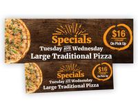 Pizza Window Graphics