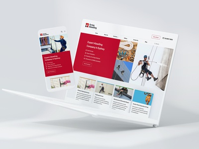 Abseiling Company Website