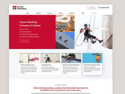 Abseiling Homepage