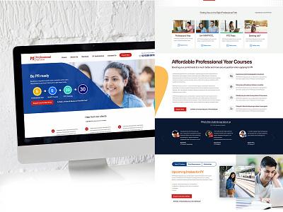 PY Training Courses Website education website education clean ui madewithadobexd web design web ux adobexd ui webdesign